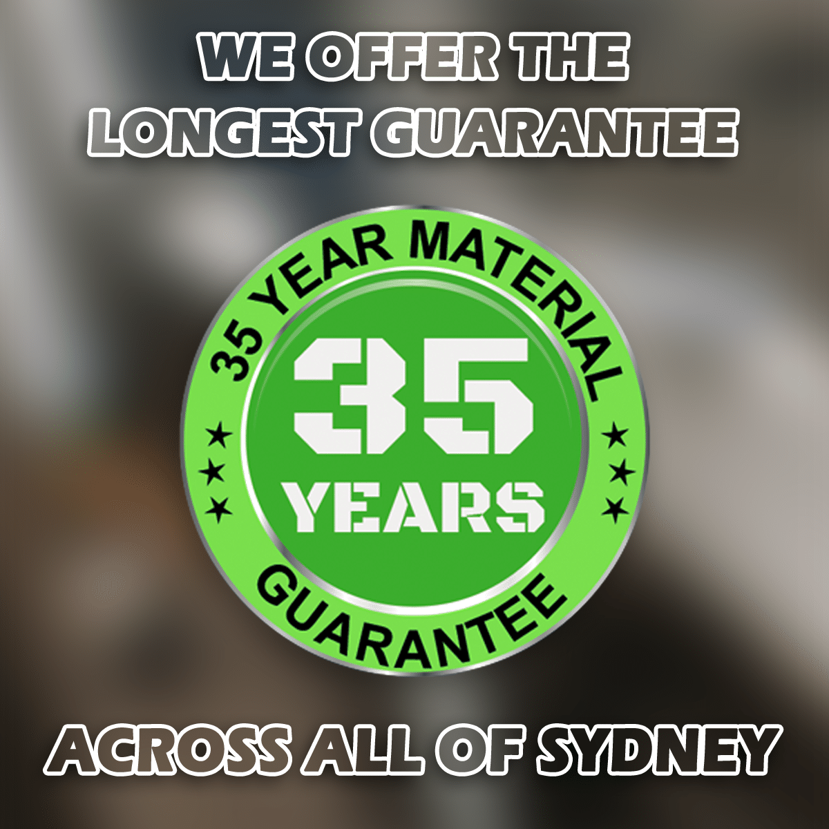 YDIG 35 Year Guarantee